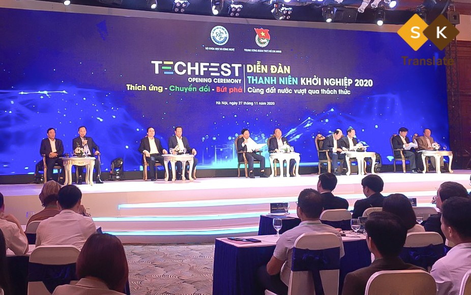 SK Translate at TechFest 2020